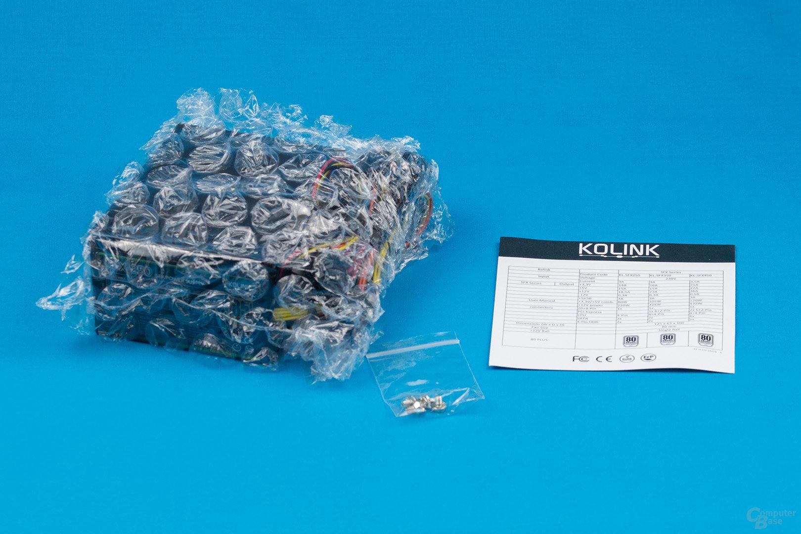 Kolink SFX-250 – Packungsinhalt