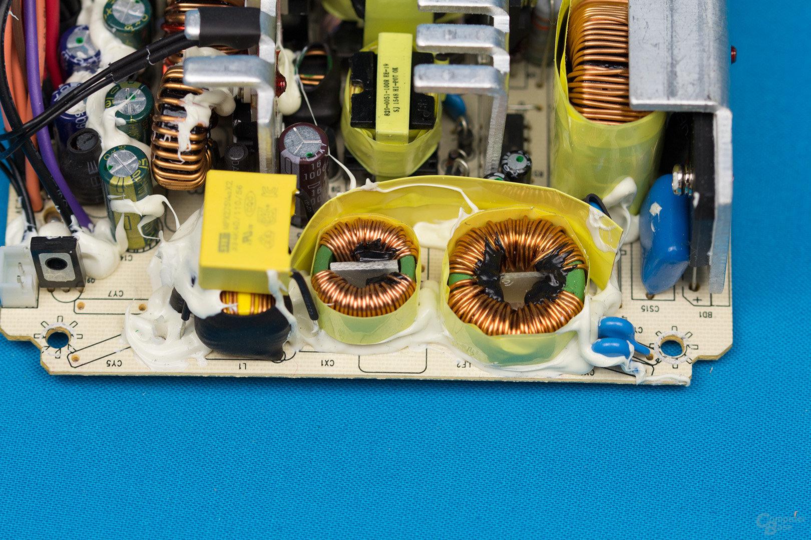 Inter-Tech Argus SFX-300W – Eingangsfilter