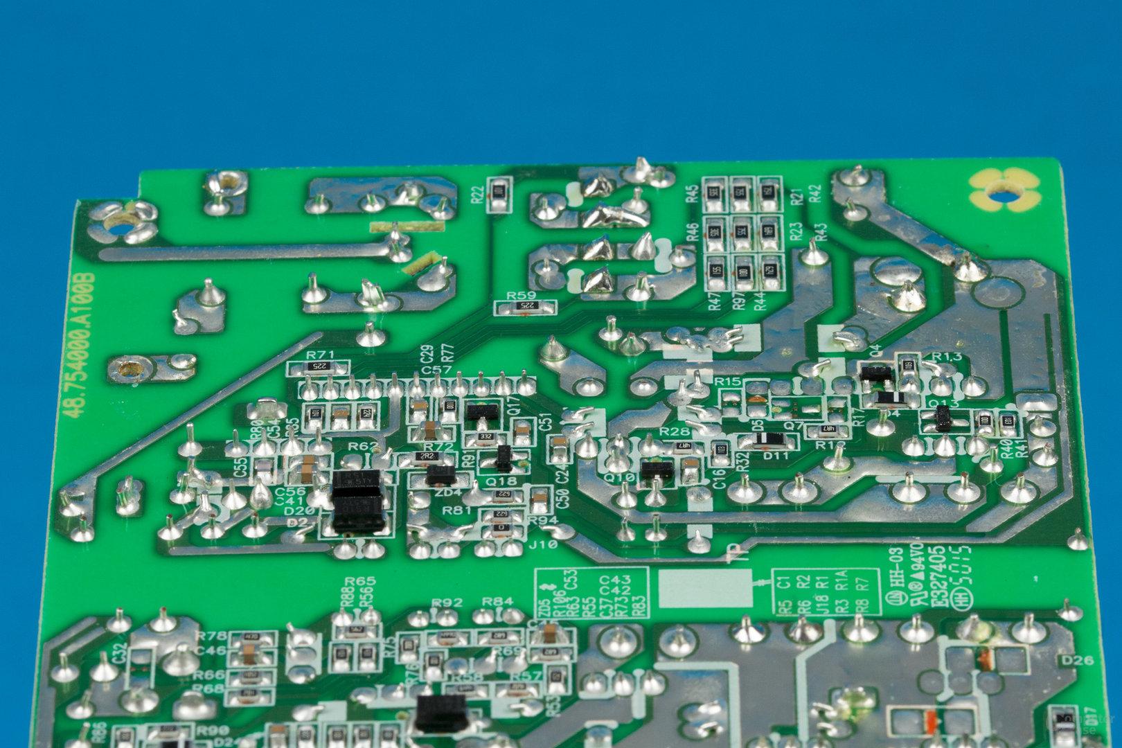 Kolink SFX-250 – Lötqualität (Primärseite)