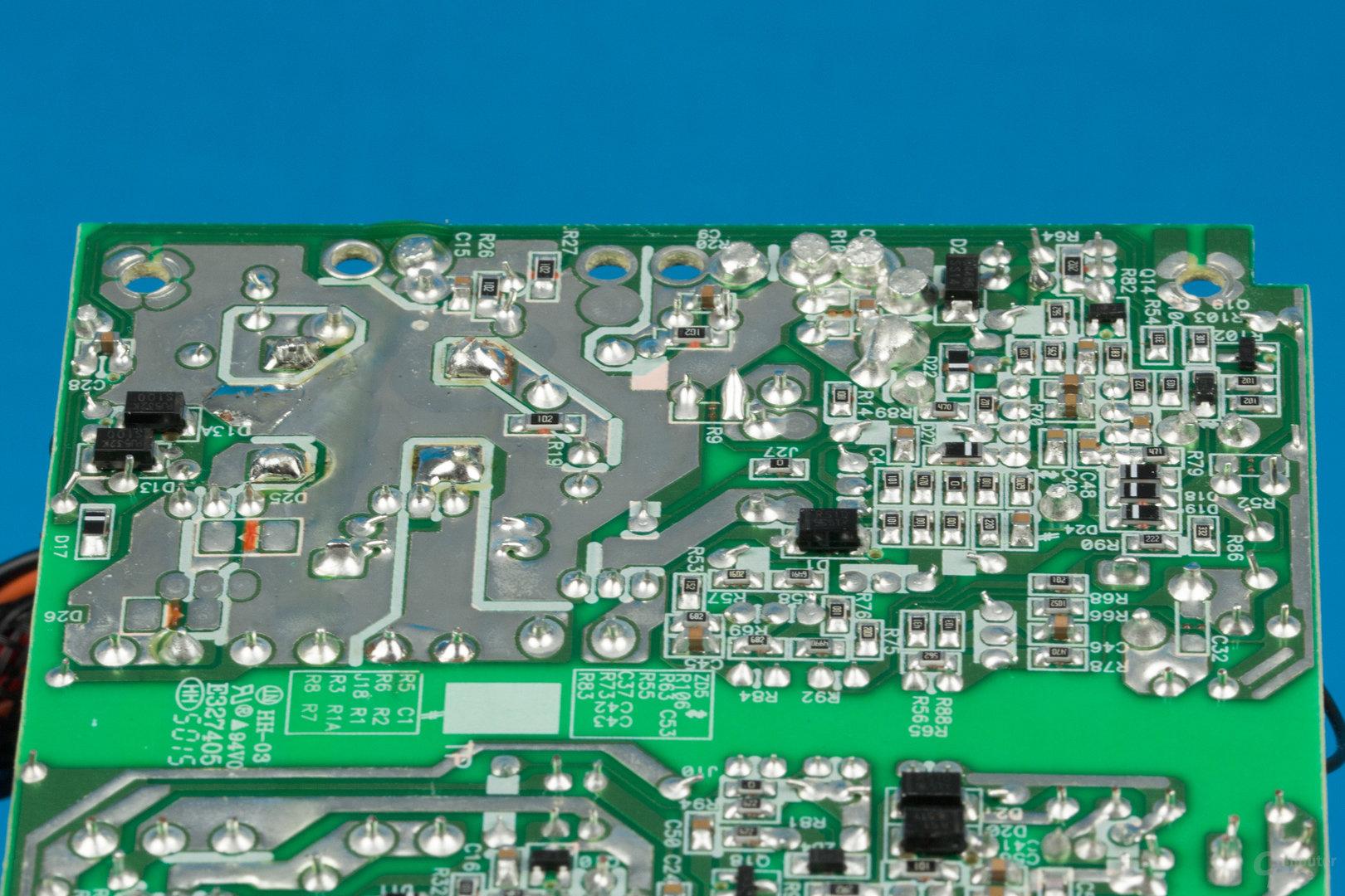 Kolink SFX-250 – Lötqualität (Sekundärseite)