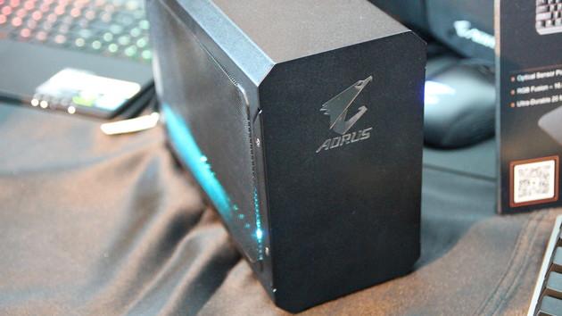 eGPU-Gehäuse: Gigabyte Aorus GeForce GTX 1070 Gaming Box ab 679 Euro