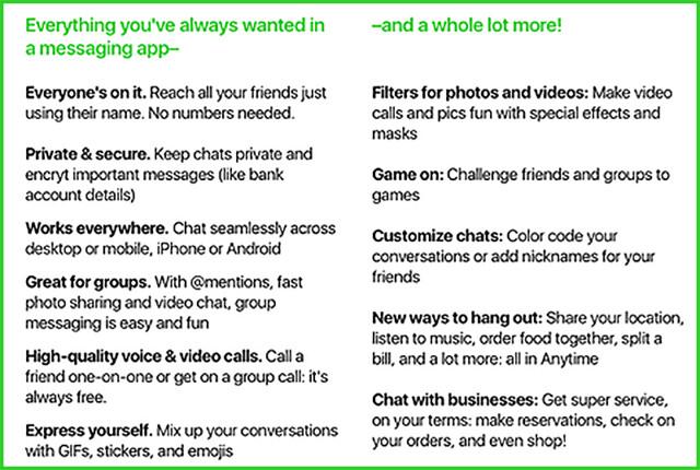 Amazon befragt Nutzer zu ihrer Meinung zum geplanten Messenger Anytime