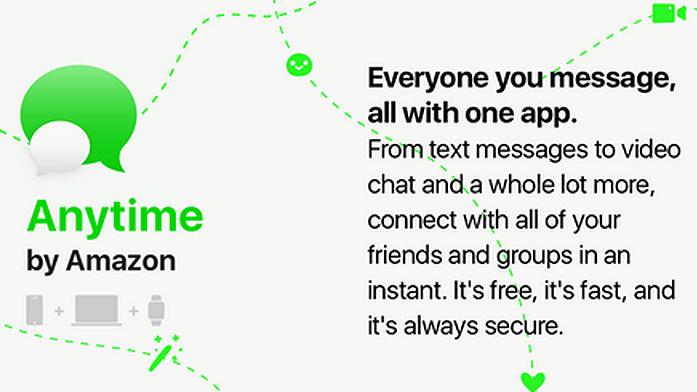 Anytime: Amazon prüft Einstieg in Messenger-Markt