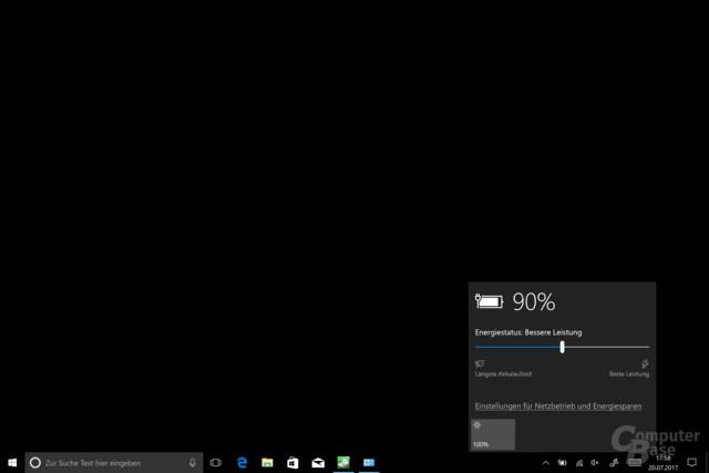 Surface Pro nutzt erstmals Windows 10 Power Throttle