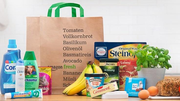 AmazonFresh: Lebensmittelversand nun auch in Hamburg