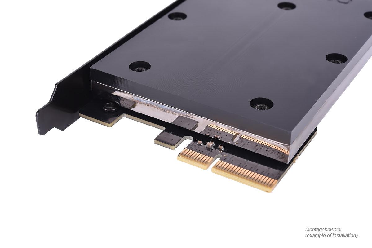 Alphacool HDX 3: Wasserkühler für M.2-SSDs
