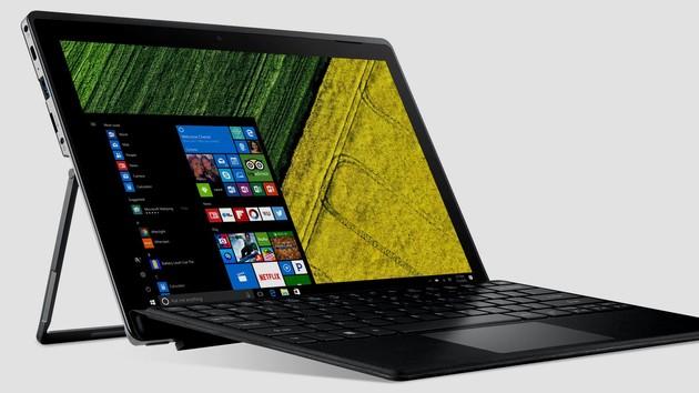 Switch 5 und 3: Acers lüfterlose 2-in-1 ab 999 und 499 Euro lieferbar