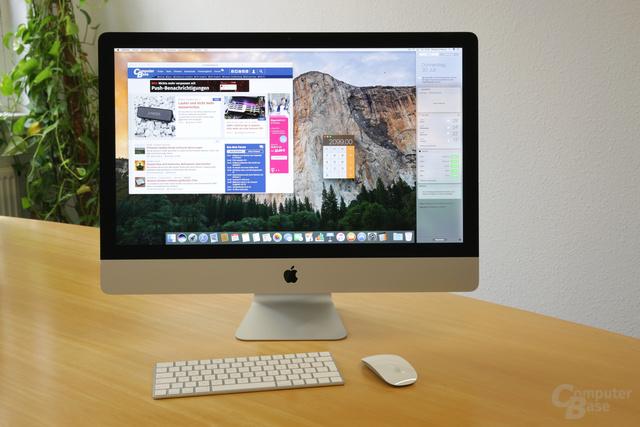 Apple iMac 27 Zoll (Mid 2017) im Test