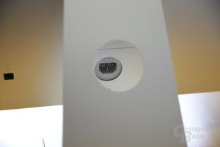 Stromanschluss auf der Rückseite