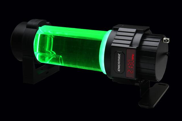 Enermax NEOChanger: Grüne Beleuchtung