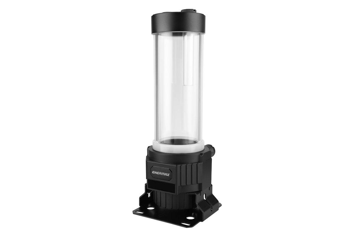Enermax NEOChanger: Reservoir aus Acrylglas mit integrierter Pumpe