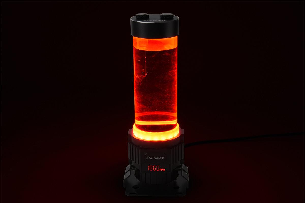 Enermax NEOChanger: Rote Beleuchtung