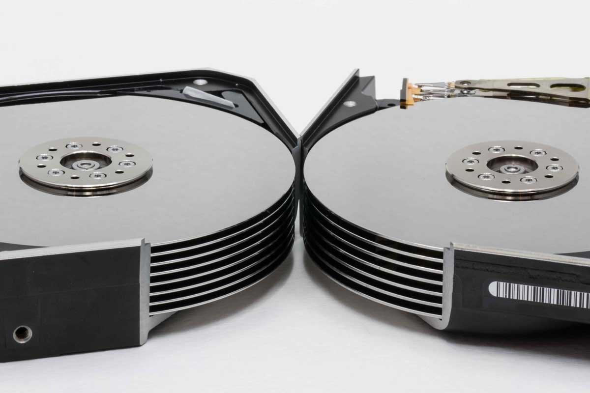 Links das 8-Platter-Design, rechts das 7-Platter-Design