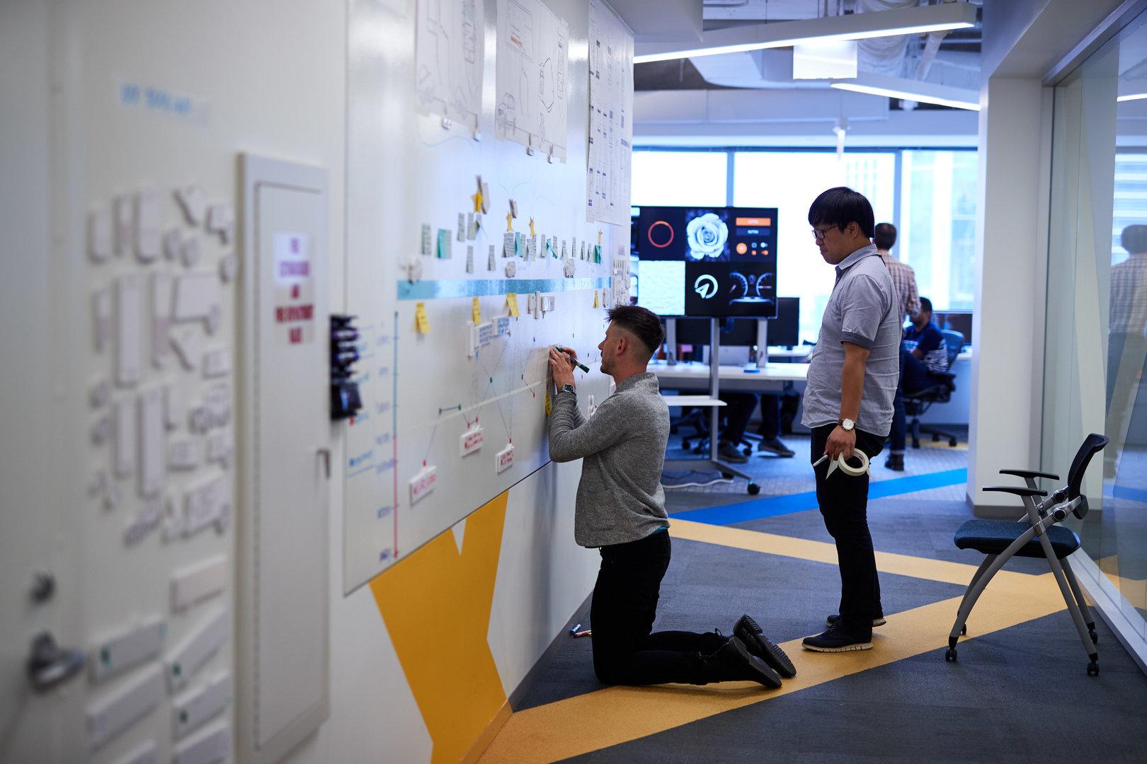 Entwickler skizzieren den Tagesablauf des Fahrers mit Connected