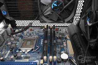 Fractal Design Meshify C – Hohe RAM-Kühler sind zu vermeiden