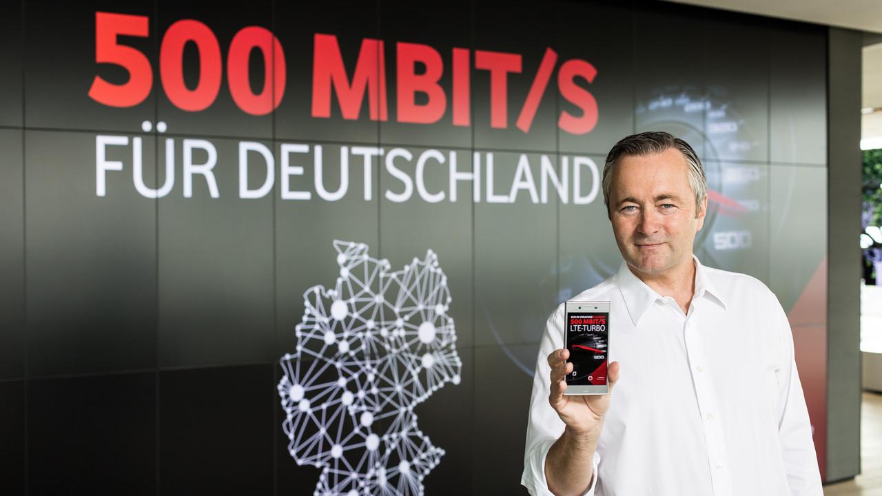 Vodafone: Kabel- und LTE-Netzausbau mit 500 Mbit/s schreitet voran