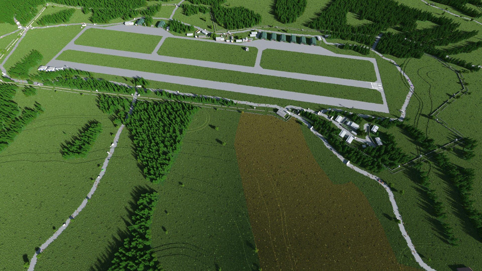 Das berüchtigte nordwestliche Airfield