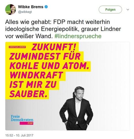 Grüne verfälschen FDP-Wahlkampfsprüche: Satire oder Fake News?