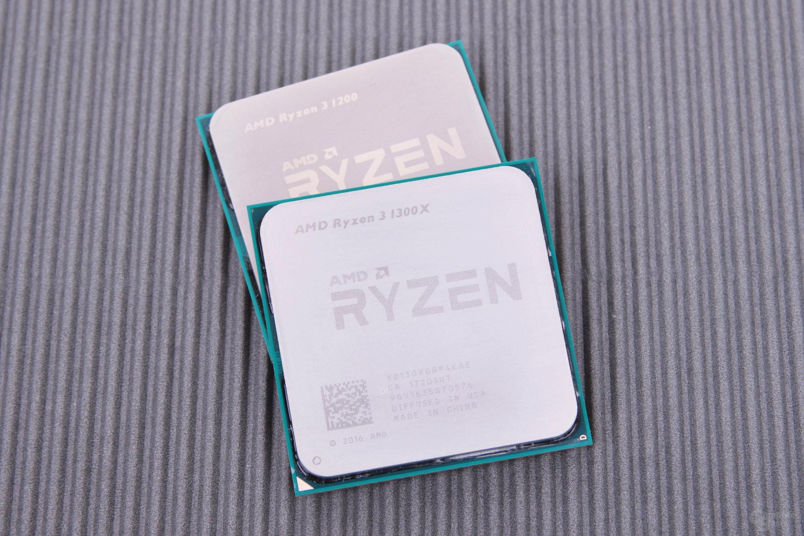 AMD Ryzen 3 1300X und 1200