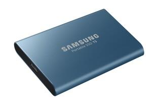 Samsung Portable SSD T5 (Ozeanblau)