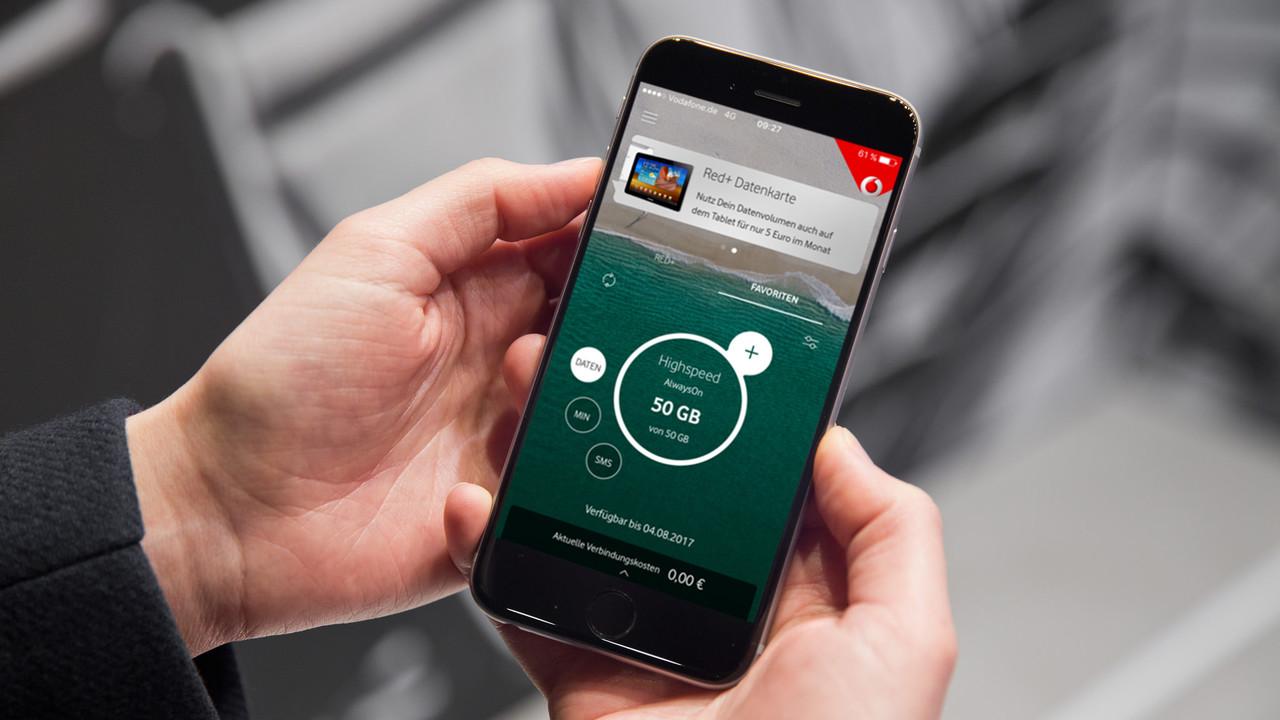 Vodafone GigaGarantie: Extra-Volumen bei Freischaltung und Störung