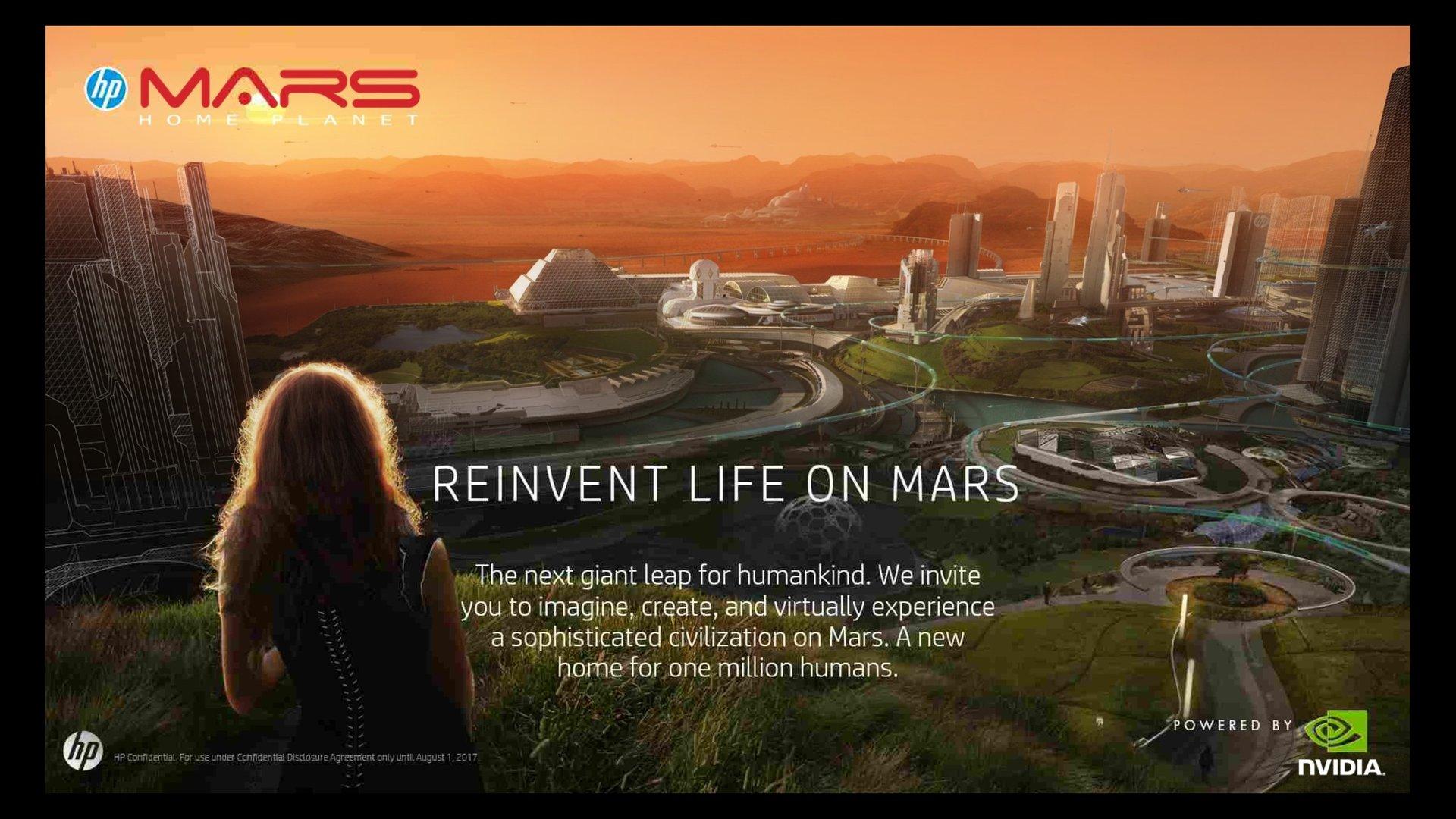 Community-Projekt: Marks Home Planet