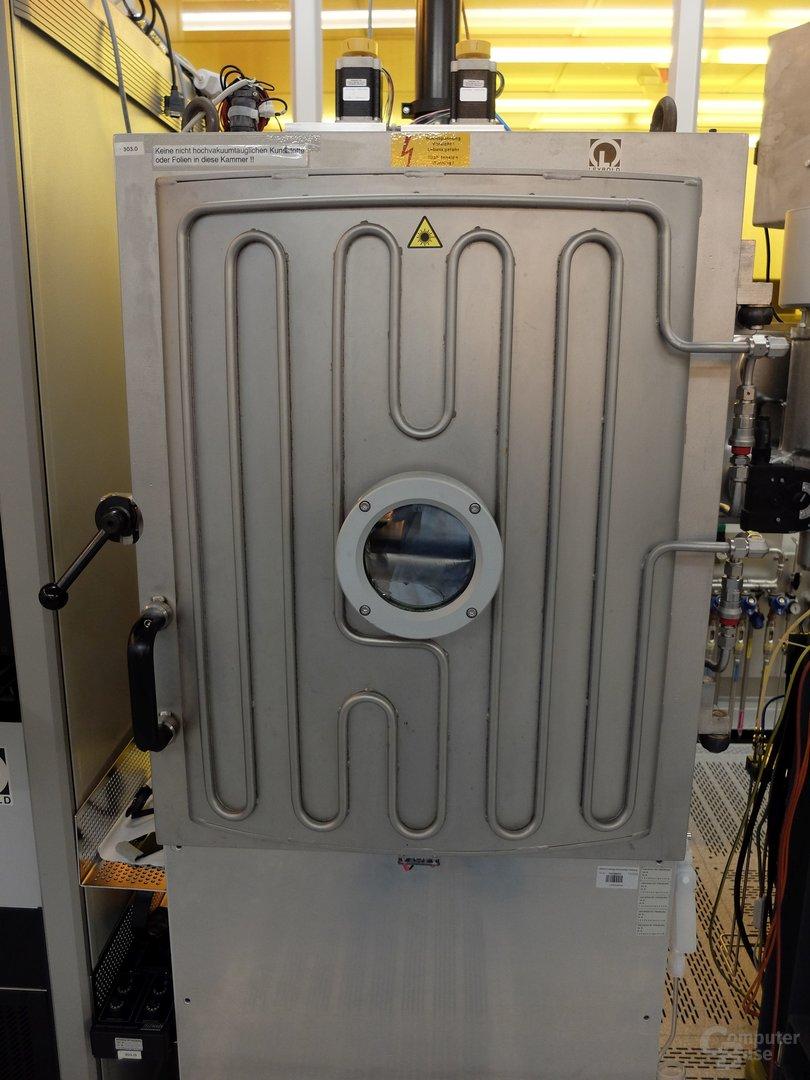 Vakuum-Kammer für die Metallbeschichtung der Wafer
