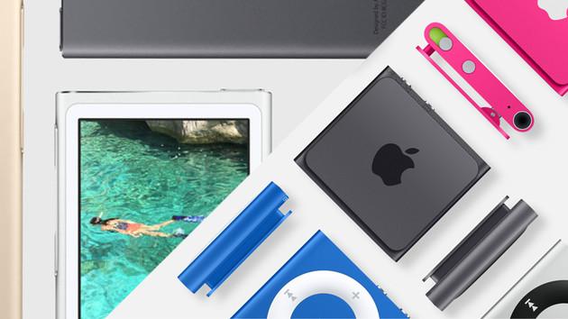 Apple iPod: Nano und Shuffle eingestellt, iPod touch günstiger