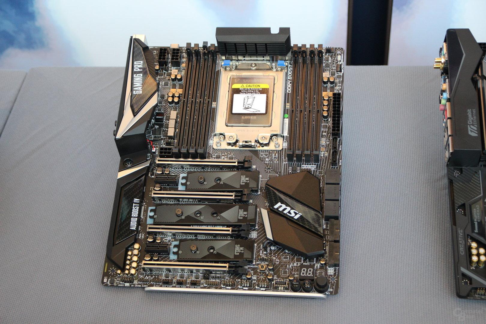 X399-Mainboard von MSI