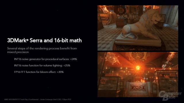 Der 3DMark mit Rapid Packed Math