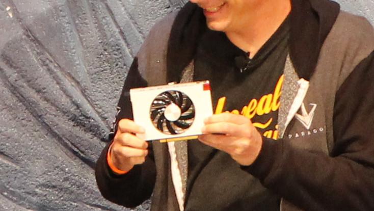 Radeon RX Vega: Kleine Nano-Version der High-End-Grafikkarte gezeigt
