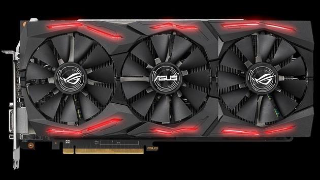 Asus ROG Strix RX Vega 64: Eigenes Partnerdesign kommt Anfang September