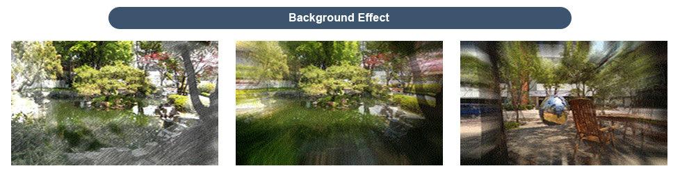 Neue Bildeffekte