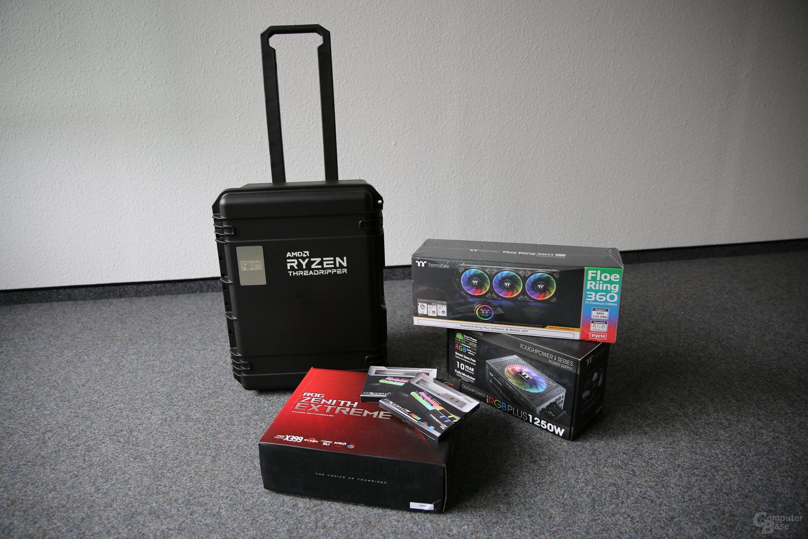 Threadripper-Review-Kit von AMD für ComputerBase
