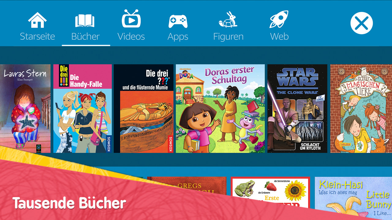 Amazon: FreeTime-App für Android abseits Fire OS verfügbar