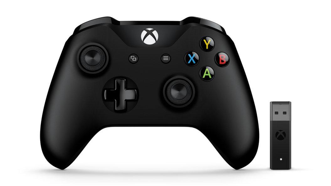 Einfacher Xbox-Controller mit neuem Funkempfänger