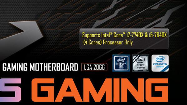 Intel Core X: Erste X299-Mainboards ausschließlich für Kaby Lake-X