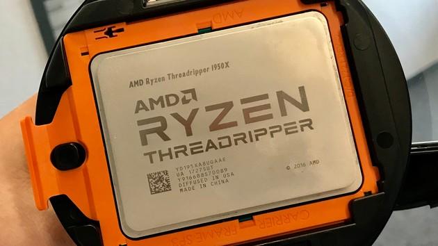 Ryzen Threadripper 1920: 12-Kern-CPU mit 140 W TDP und ohne X