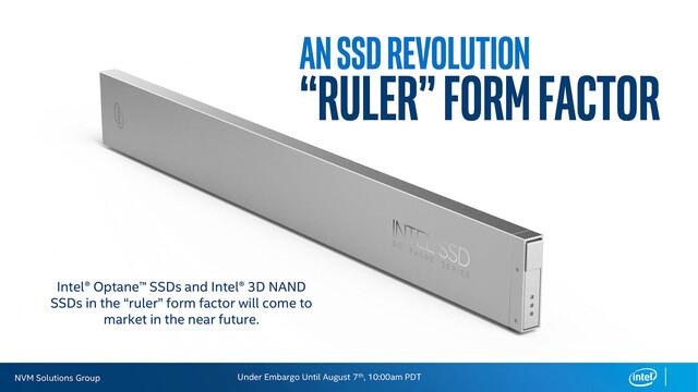 """Eine SSD im """"Ruler"""" Formfaktor"""