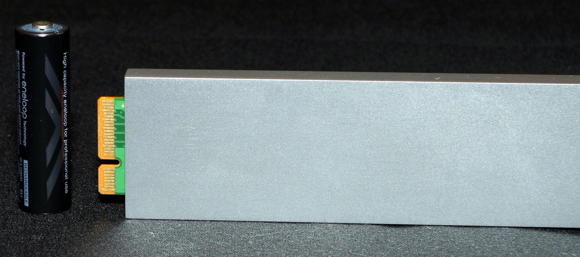 Der Anschluss der Ruler-SSD