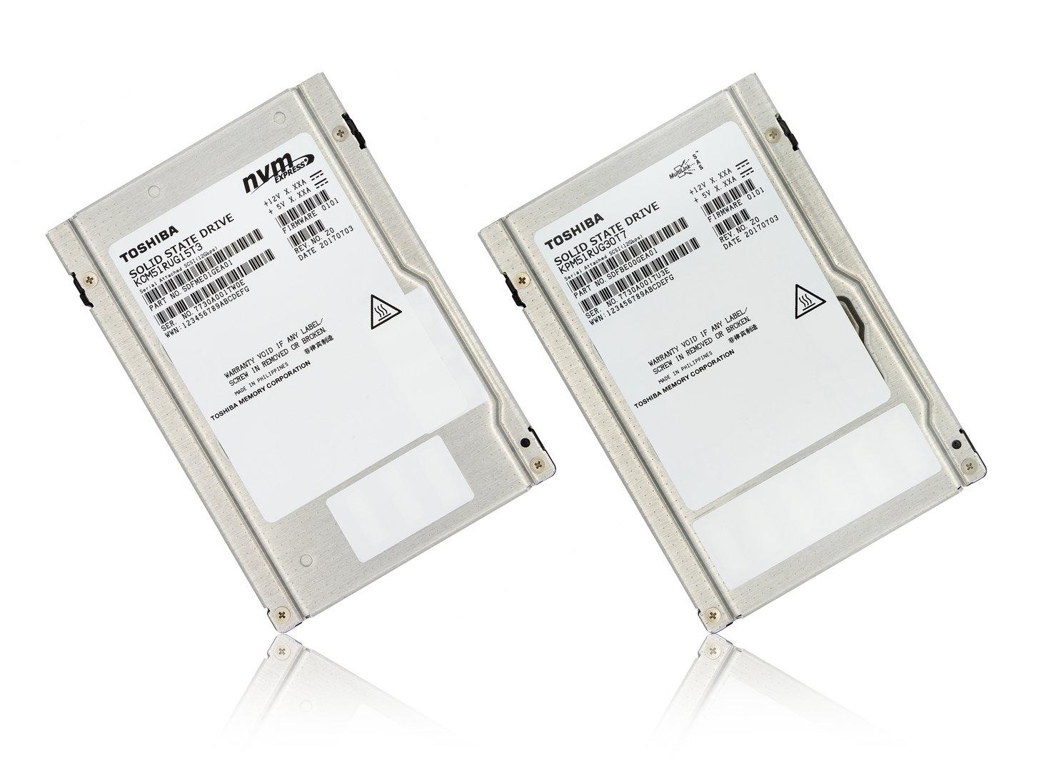 Toshibas Enterprise-SSDs PM5 und CM5