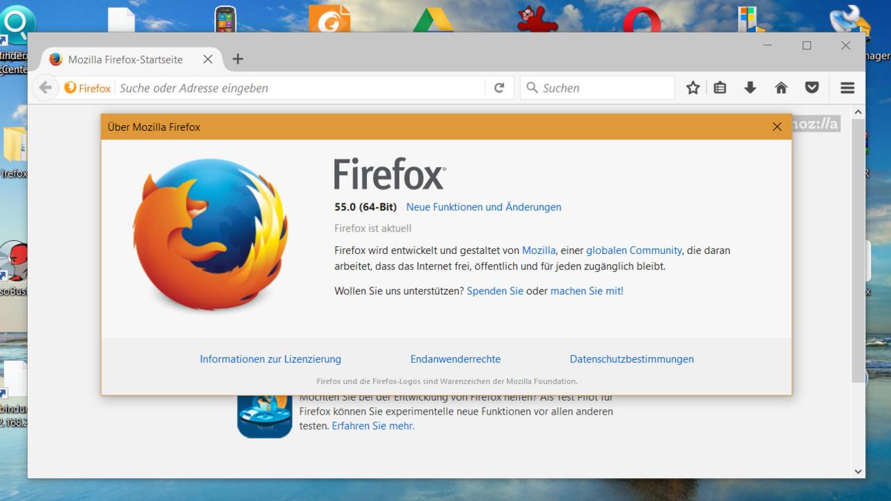 Browser: Firefox 55 schneller beim Wiederherstellen vieler Tabs