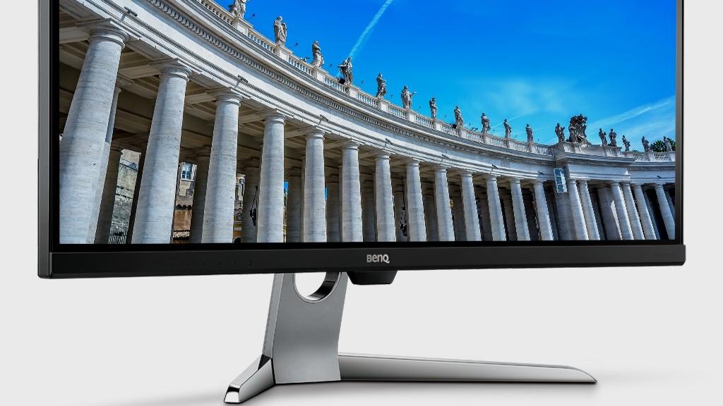 BenQ EX3501R: Curved-VA-Monitor mit 3.440 × 1.440, 100 Hz, DP 1.4 und USB C