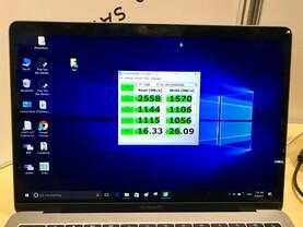 Demo der externen Thunderbolt-3-SSD