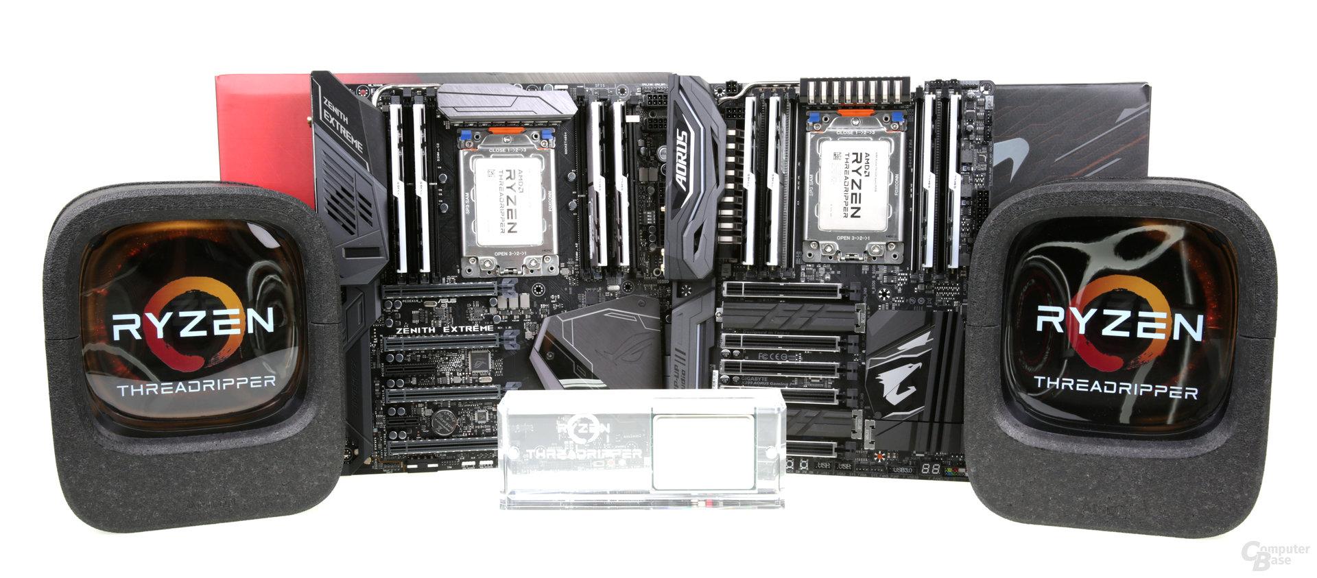 AMD Ryzen Threadripper 1950X und 1920X im Test