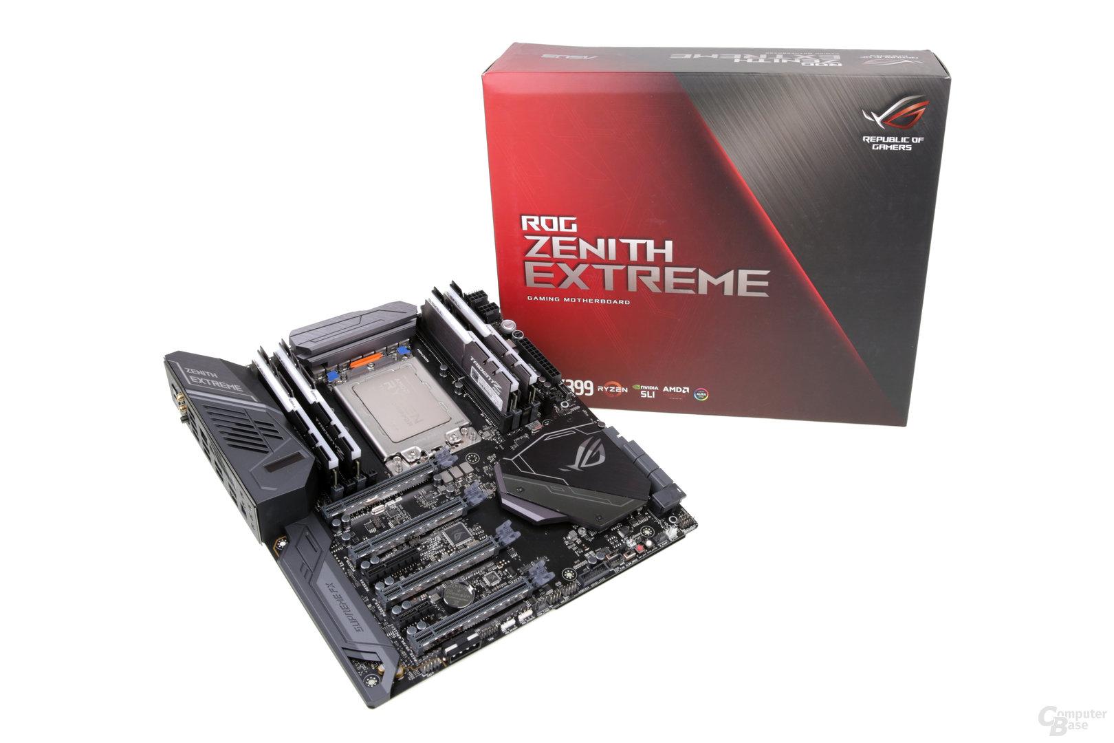 Das Asus ROG Zenith Extreme X399