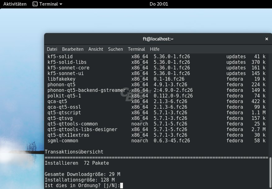 Linux: KDE Connect jetzt auch für die Gnome-Shell - ComputerBase
