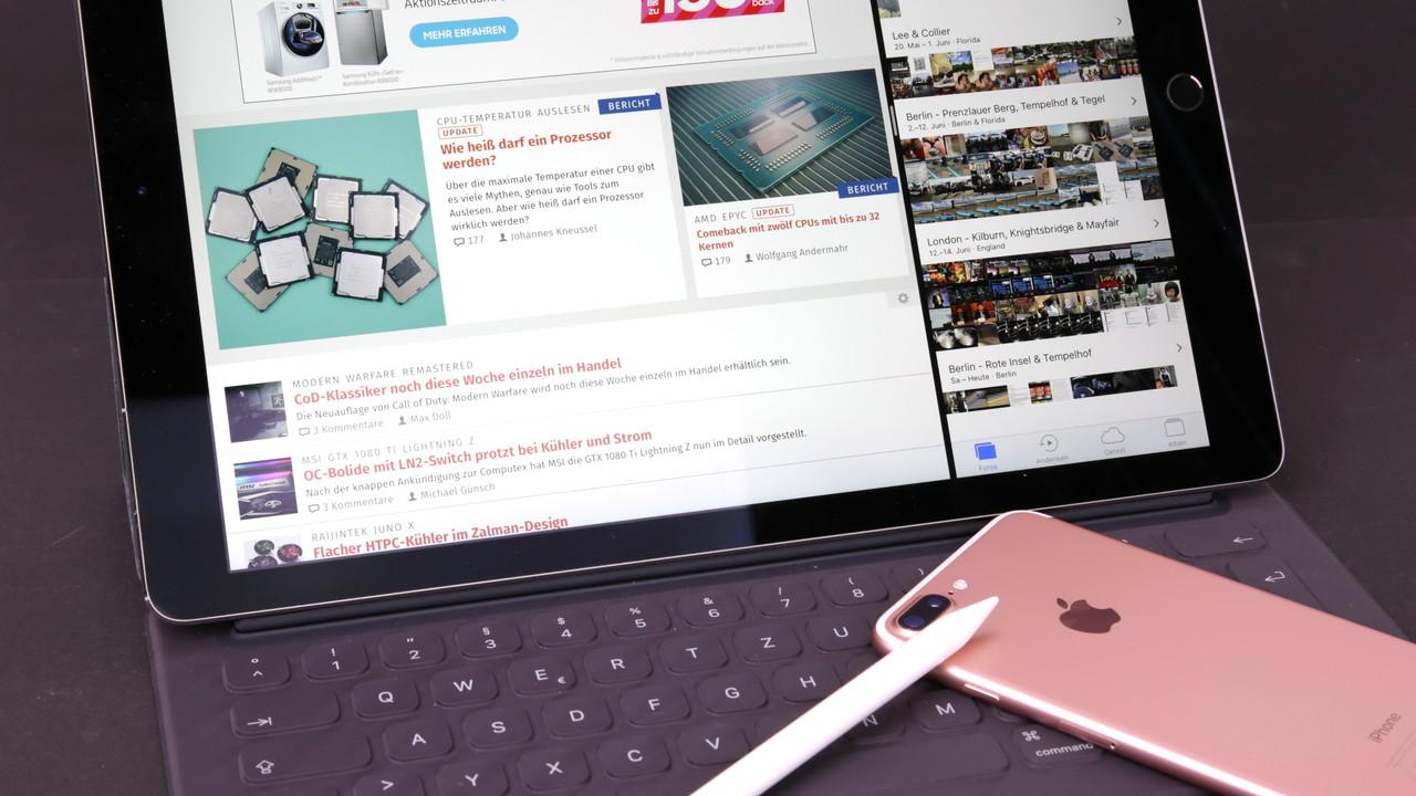 iPad Pro mit 12,9 Zoll: Verbraucherzentrale NRW warnt vor gleichen Namen