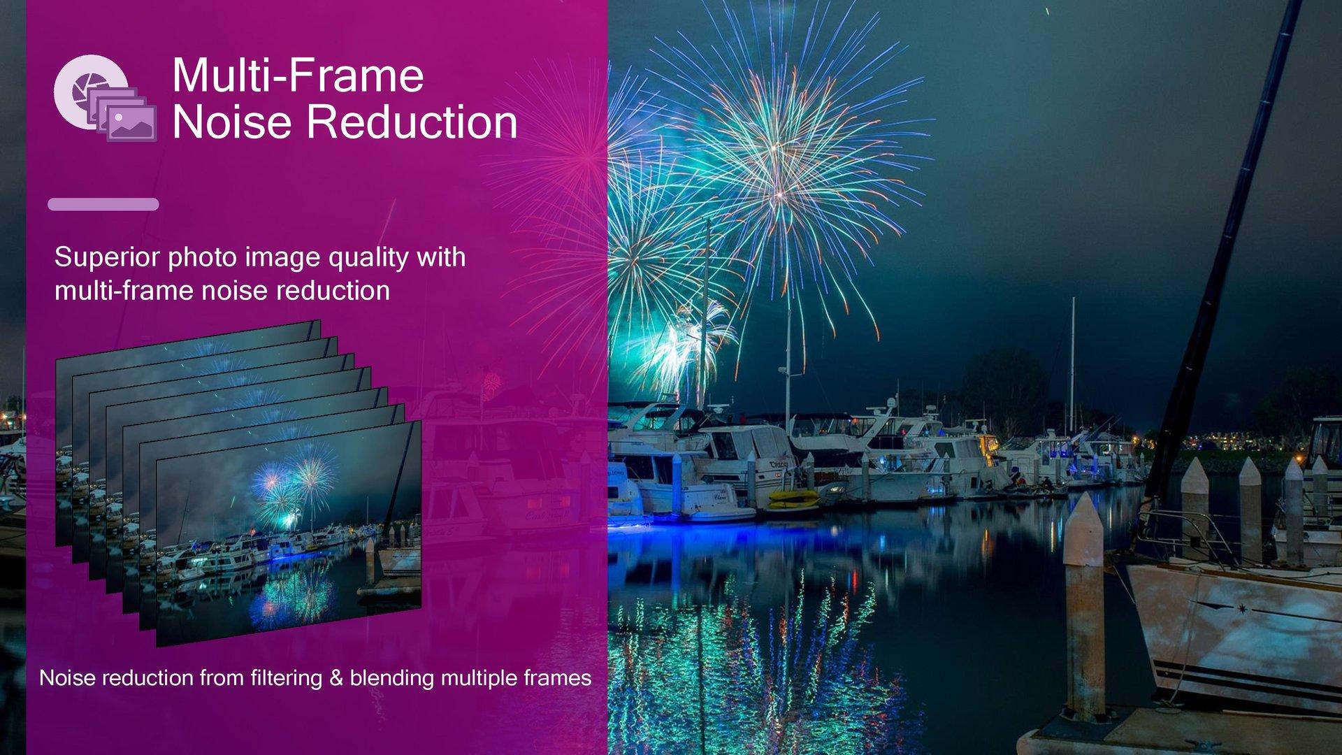Multi Frame Noise Reduction