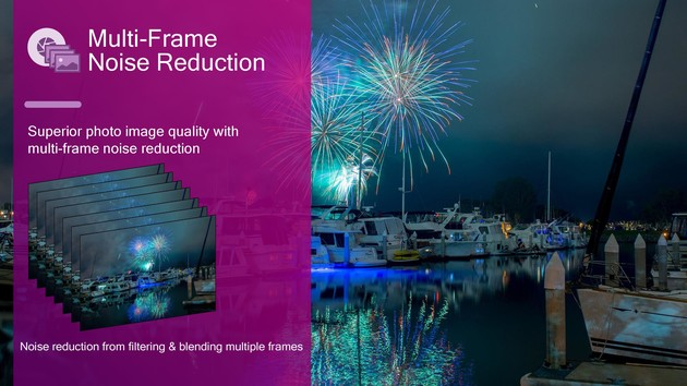Multi Frame Noise Reduction